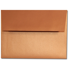 Copper A-7 Envelopes - 25 Pack