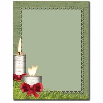 Country Candles Letterhead