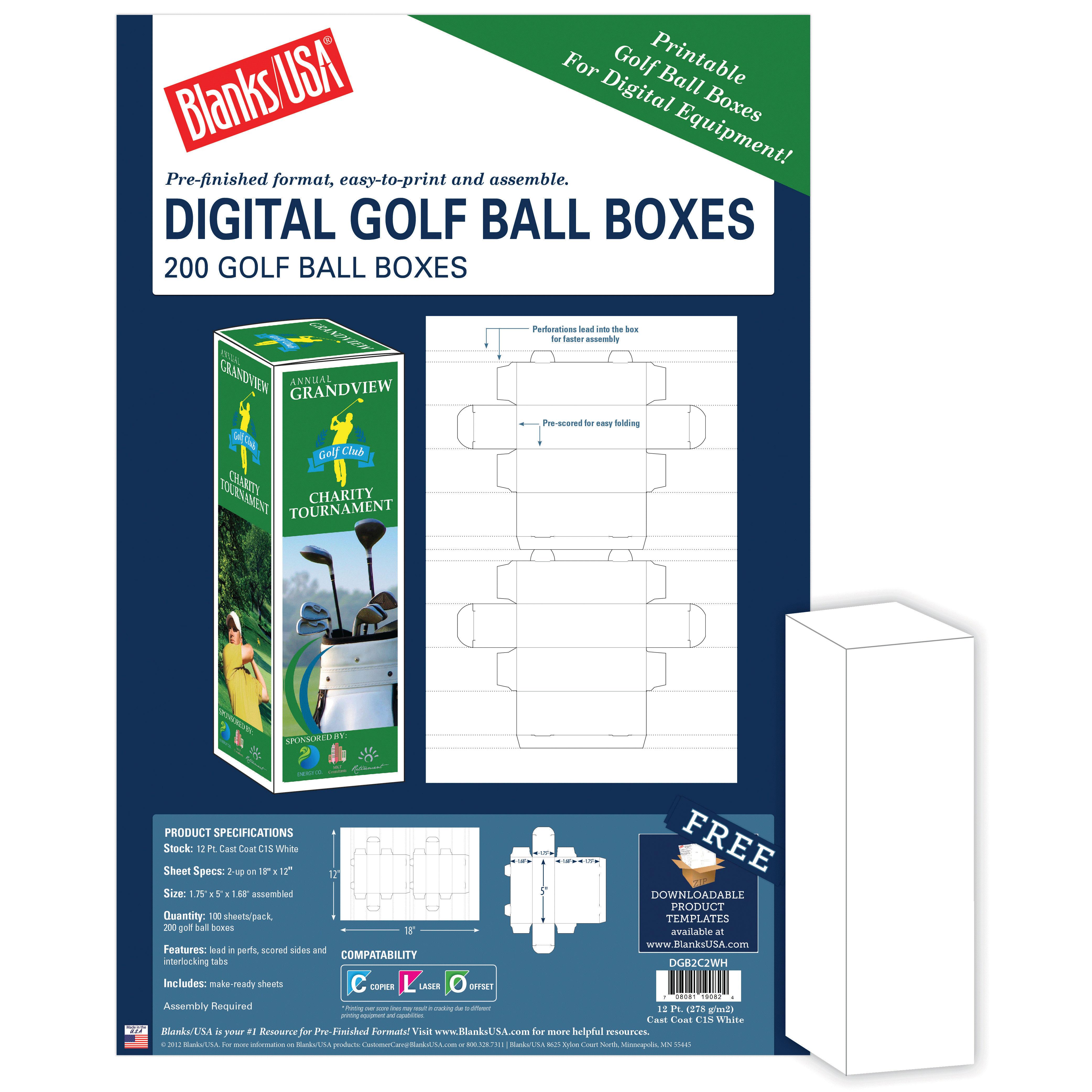 Golf Ball Box