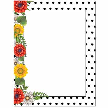 Daisy Dots Letterhead