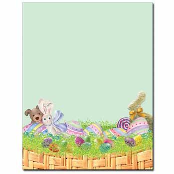 Easter Basket Letterhead