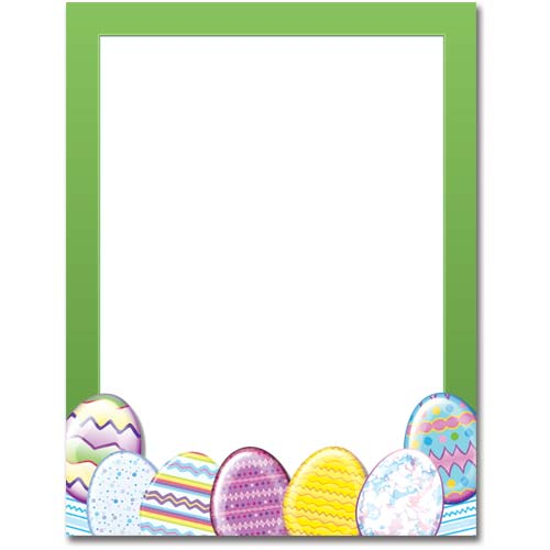 It is a photo of Easter Stationery Printable inside religious