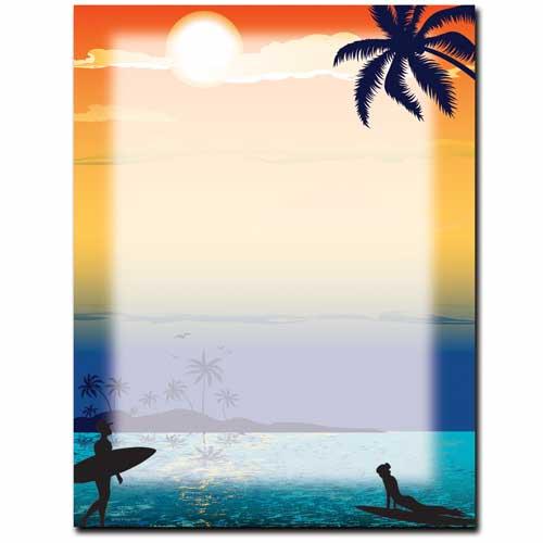 Endless-Summer-Beach-Paper-Letterhead