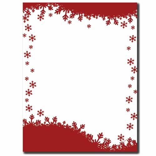 Falling-Flakes-Winter-Snowflakes-Letterhead