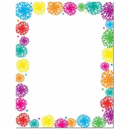 Fanciful Fireworks Letterhead