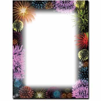 Fireworks Letterhead