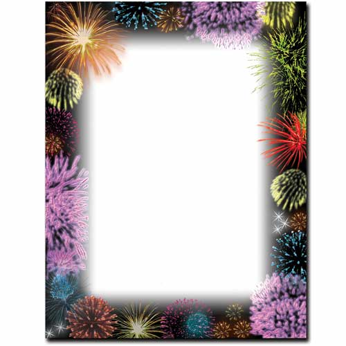 Fireworks-Patriotic-Letterhead-Paper