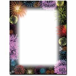 Fireworks Letterhead - 25 pack