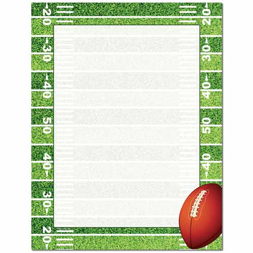 Football Field Letterhead