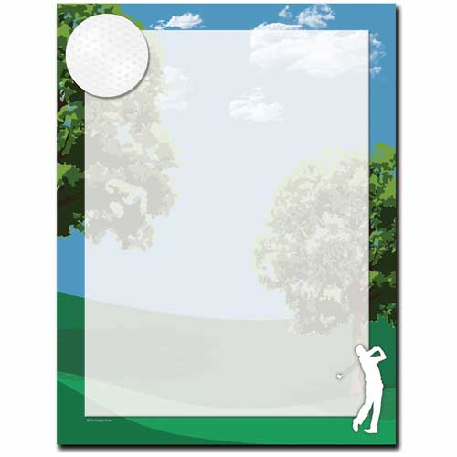 Four-Golf-Letterhead-Paper
