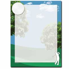 Fore! Letterhead - 25 pack