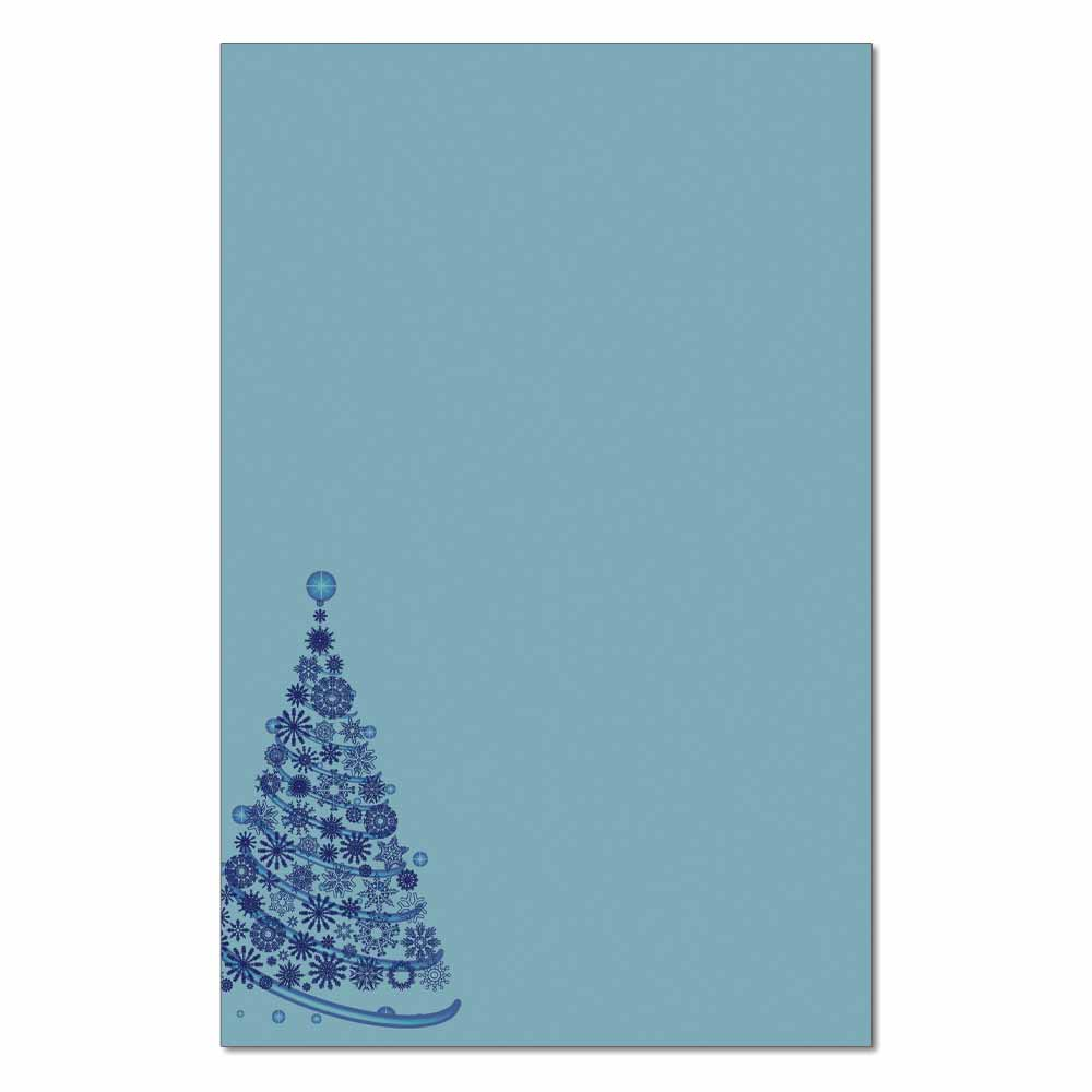 Frosty Tree Jumbo Card, 48pk