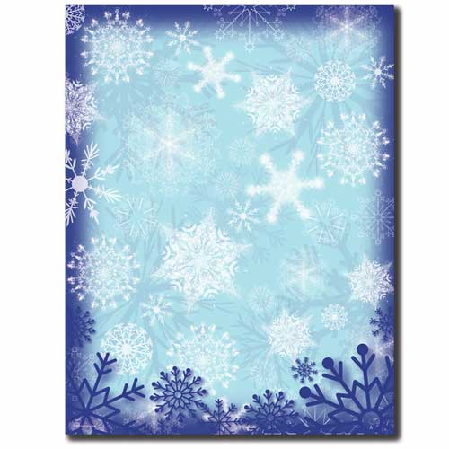 Frosty-Snowflakes-Letterhead-Holiday-Paper