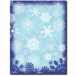 Frosty Flakes Letterhead - 25 pack