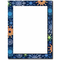 Funky Flakes Letterhead - 25 pack