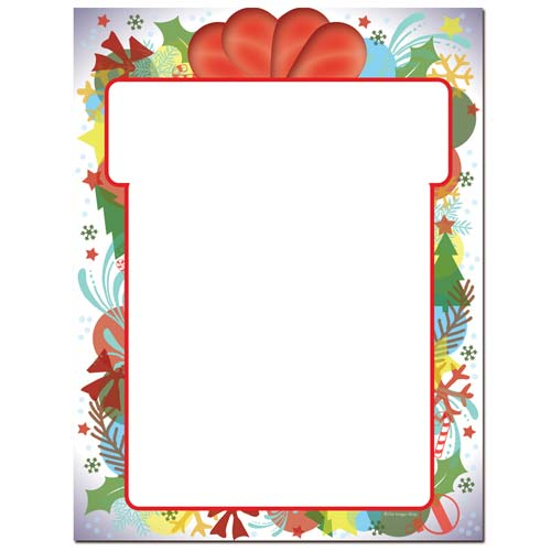 Gift-Wrapped-Christmas-Letterhead-Paper