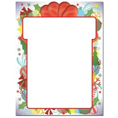 Gift Wrapped Letterhead - 100 pack