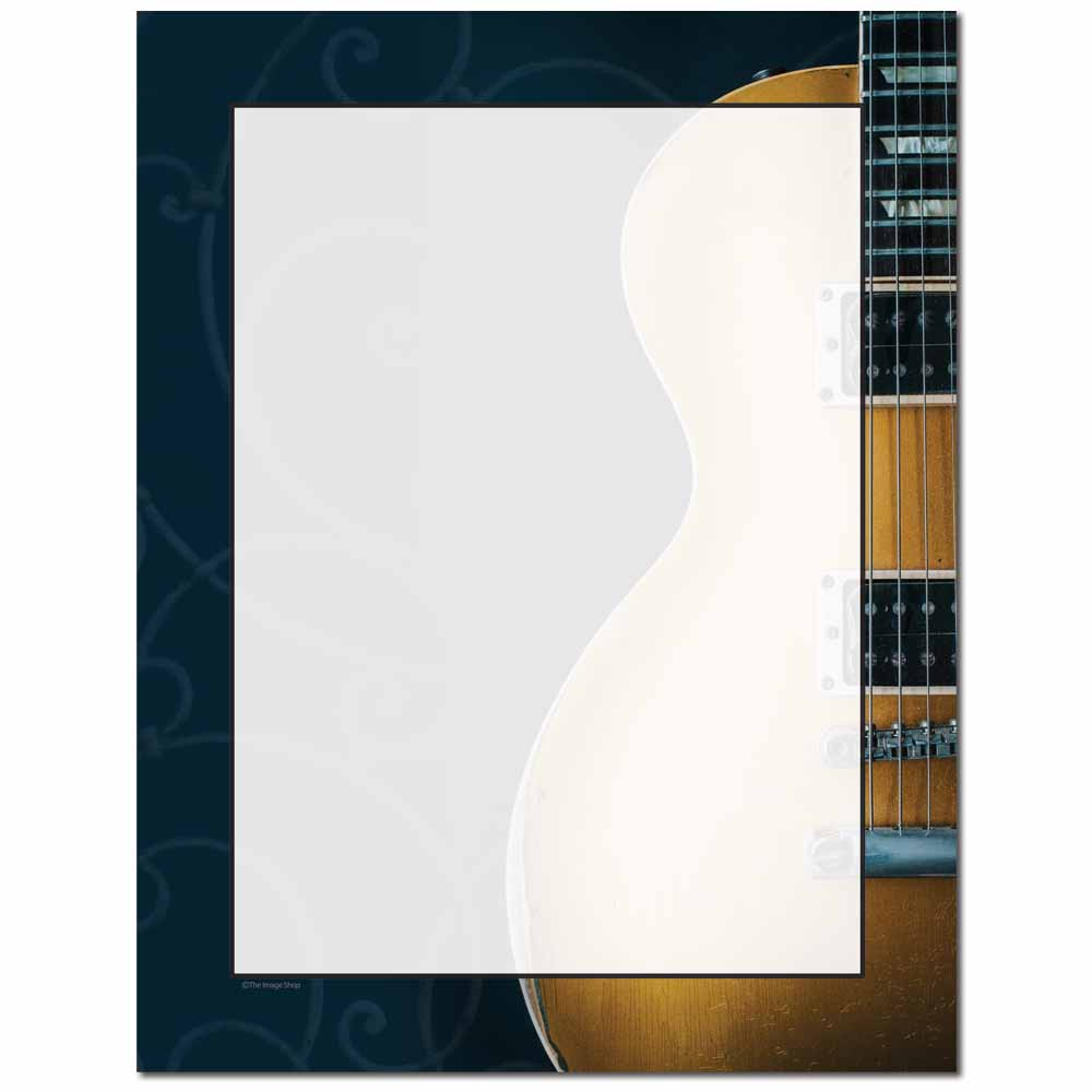 Guitar Strings Letterhead