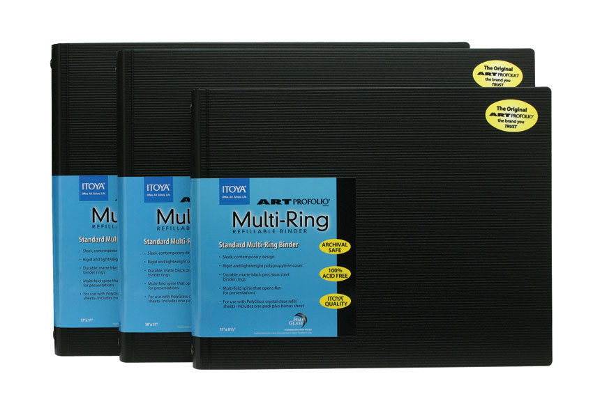 Multi-Ring Binder, Horizontal