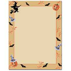 Halloween Harvest Letterhead