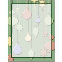 Hanging Ornaments Letterhead - 25 pack