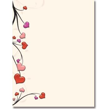 Heart Vines Letterhead
