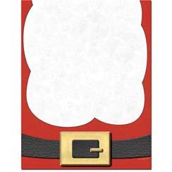 Here-Comes-Santa-Beard-Letterhead-Paper