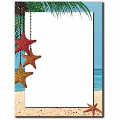 Holiday Stars Letterhead - 25 pack