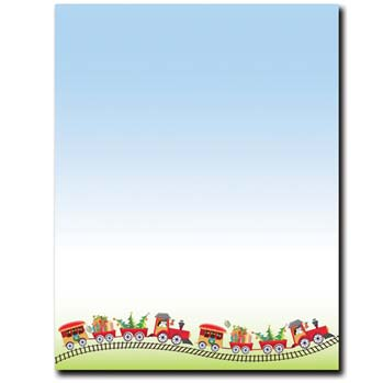 Holiday Train Letterhead