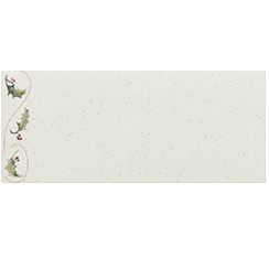 Holly Bunch Envelopes - 25 Pack