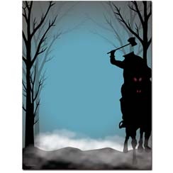 Headless-Horseman-Halloween-Printer-Paper