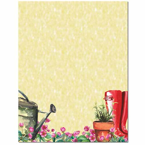 Into The Garden Letterhead