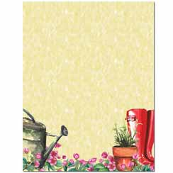 Into The Garden Letterhead - 100 pack