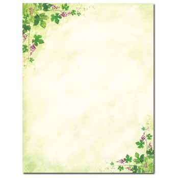 Ivy & Grapes Letterhead