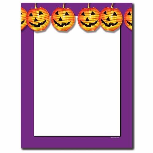 Jack-O-Lantern-Halloween-Letterhead