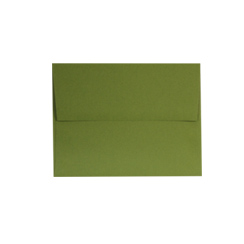 Jellybean Green A-2 Envelopes