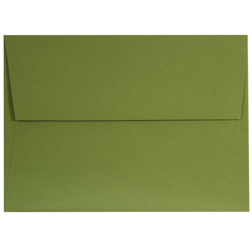 Jellybean Green A-7 Envelopes