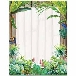 Jungle Letterhead - 25 pack