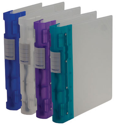 Keba Frost Binder, Purple, 1.5""