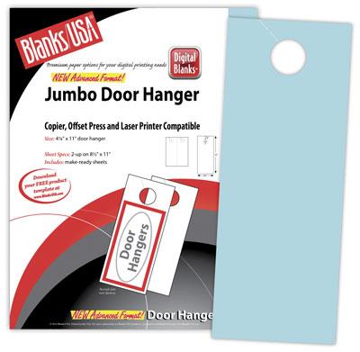 Jumbo Door Hangers, Pastels