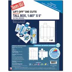 Tall Box W/Tab Closures