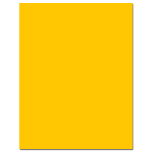 Lemon Drop Cardstock - 25 Pack