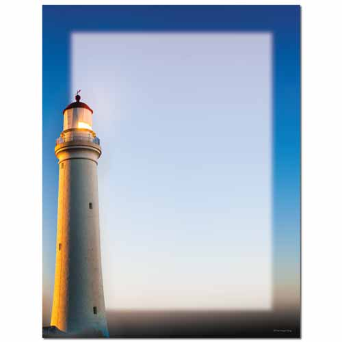 Lighthouse Letterhead