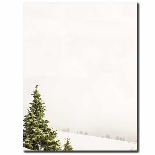 Lonely-Tree-Winter-Snow-Letterhead-Paper