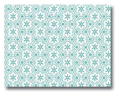 Mod-Tones Azure Post Cards