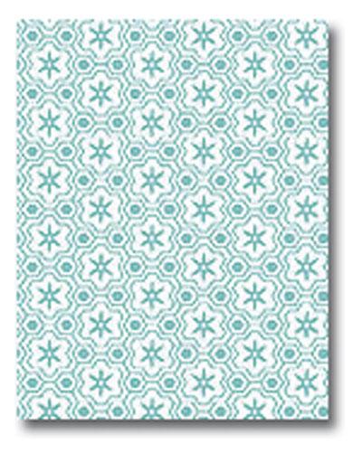 Mod-Tones Azure Letterhead - 50 Pack