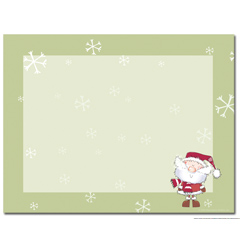 Merry Christmas Santa Post Cards