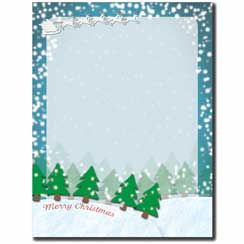 Merry Christmas To All Letterhead - 25 pack