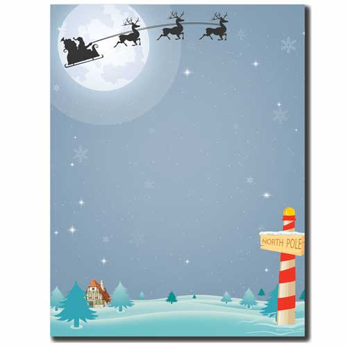 North-Pole-Christmas-Letterhead-Paper