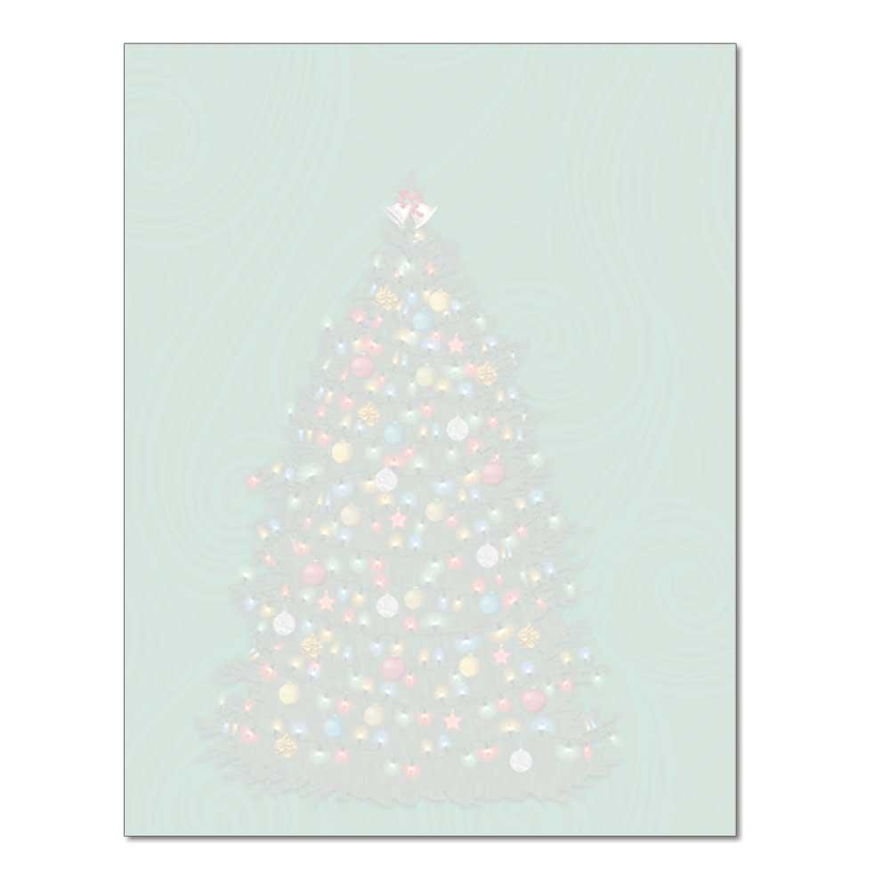 O'Christmas Tree Post Card, 48pk